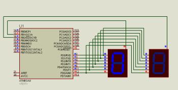 ... индикация в AVR микроконтроллерах